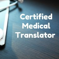 Certified Medical Translator1