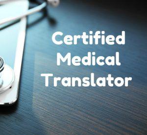 Certified Medical Translator1