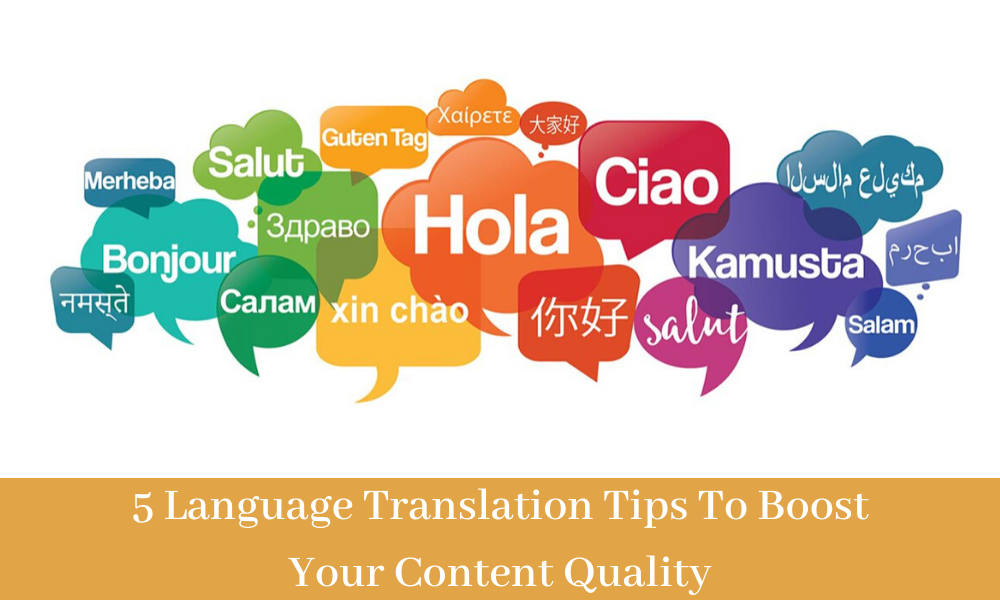 Translation Tips